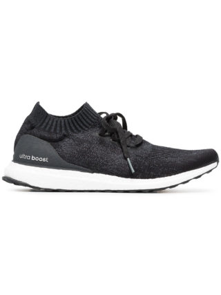 Adidas black ultraboost uncaged sneakers