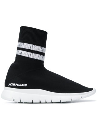 Joshua Sanders hi-top sock sneakers (zwart)