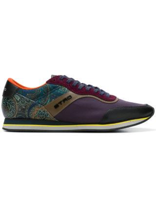 Etro paisley runner sneakers (roze/paars)