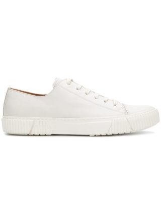Both minimal low top sneakers (wit)