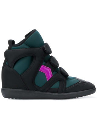Isabel Marant Buckee wedge sneakers (blauw)