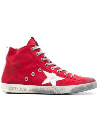 Golden Goose Deluxe Brand Francy hi-top sneakers - Red