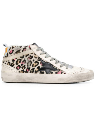 Golden Goose Deluxe Brand Mid Star sneakers - White