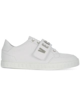 Versus logo strap sneakers (wit)