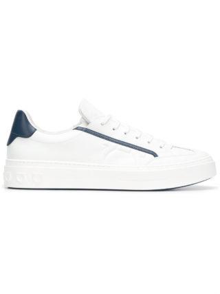 Salvatore Ferragamo Gancini sneakers (wit)
