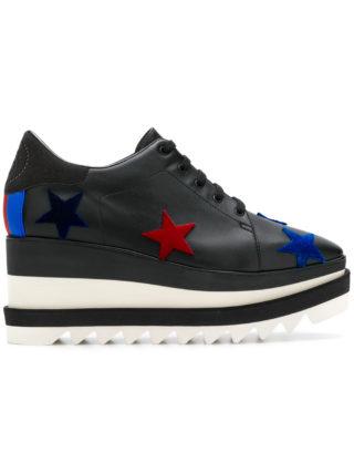 Stella McCartney Star Elyse platform sneakers - Black