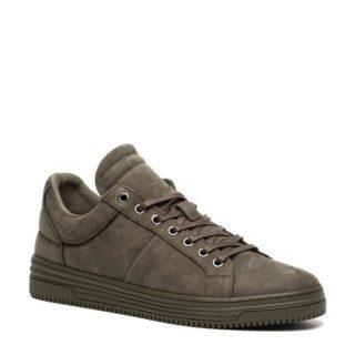 TwoDay leren sneakers olijfgroen (groen)
