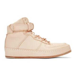 Hender Scheme Beige Manual Industrial Products 01 High-Top Sneakers