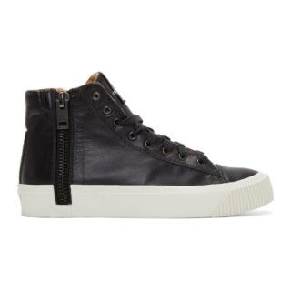 Diesel Black S-Voyage High-Top Sneakers