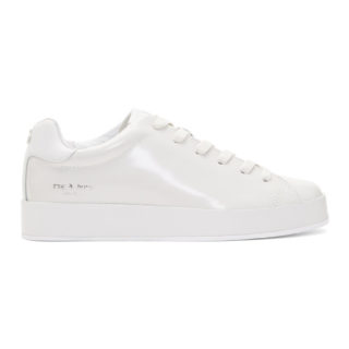 Rag and Bone Off-White RB1 Low Sneakers