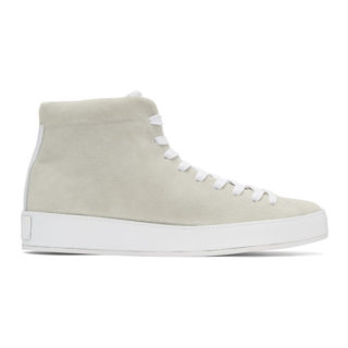 Rag and Bone Off-White RB1 High-Top Sneakers