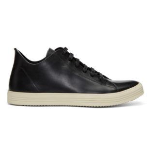 Rick Owens Black Mastodon Low Sneakers