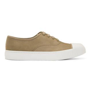 Prada Tan Nubuck Sneakers