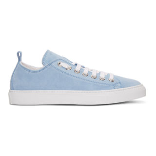 Dsquared2 Blue Suede Sneakers