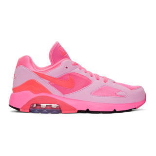 Comme des Garcons Homme Plus Pink Nike Edition Air Max 180 Sneakers