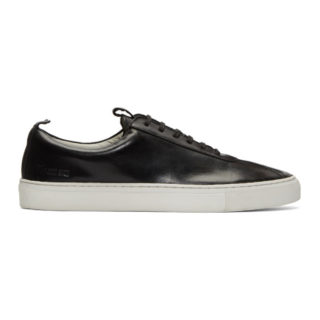 Grenson Black Leather Sneakers