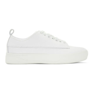 Saturdays NYC White Quentin Low Sneakers