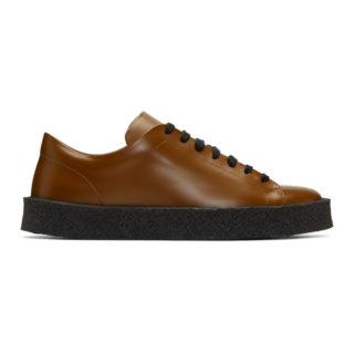 Jil Sander Brown Antick Sneakers