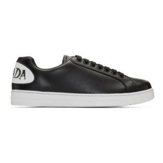 Prada Black Bubble Logo Sneakers