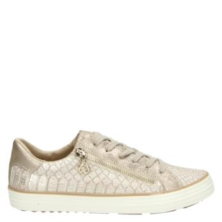 S.Oliver lage sneakers rose goud