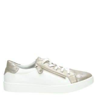 Remonte lage sneakers zilver