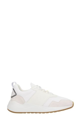 Buscemi Buscemi Ventura White Leather And Suede Sneakers (wit)