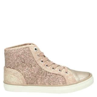 S.Oliver hoge sneakers roze