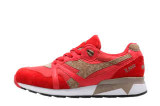 Diadora N9000 Made in Italy (Rood)