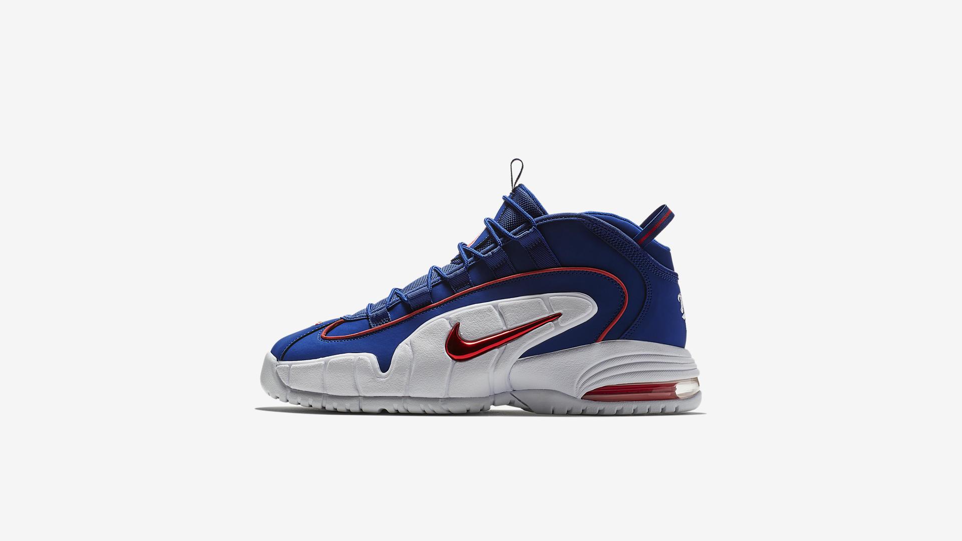 Nike Air Max Penny Deep Royal Blue / Gym Red-White (685153-400)