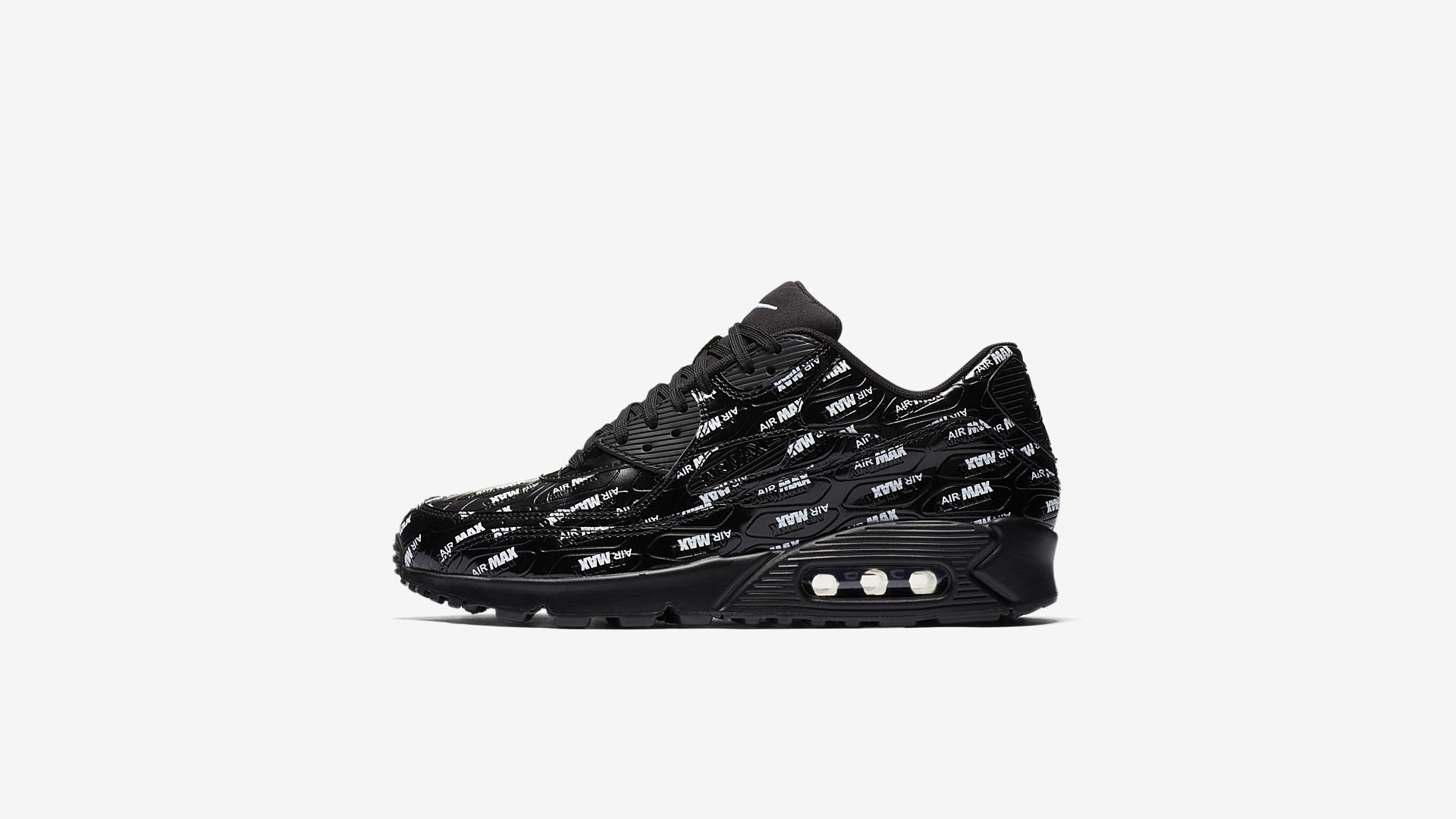 "Nike Air Max 90 ""Air Max Branding"" Pack Black (700155-015)"