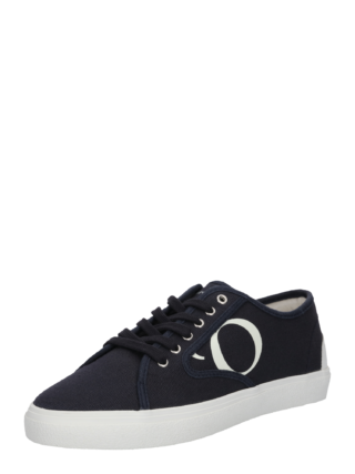 Marc O´Polo Dames Sneakers laag ´100LE´ nachtblauw / wit