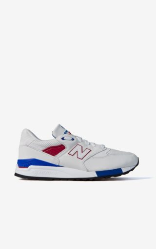 New Balance M998 DMON White/Blue/Red