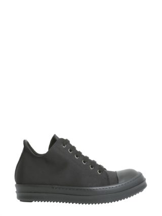 DRKSHDW Sneakers With Leather Toe Cap (zwart)
