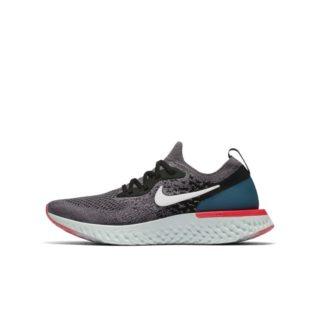 Nike Epic React Flyknit Hardloopschoen voor kids - Grijs grijs