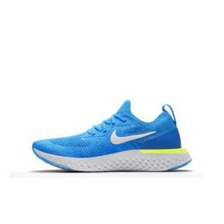 Nike Epic React Flyknit Hardloopschoen voor kids - Blauw blauw