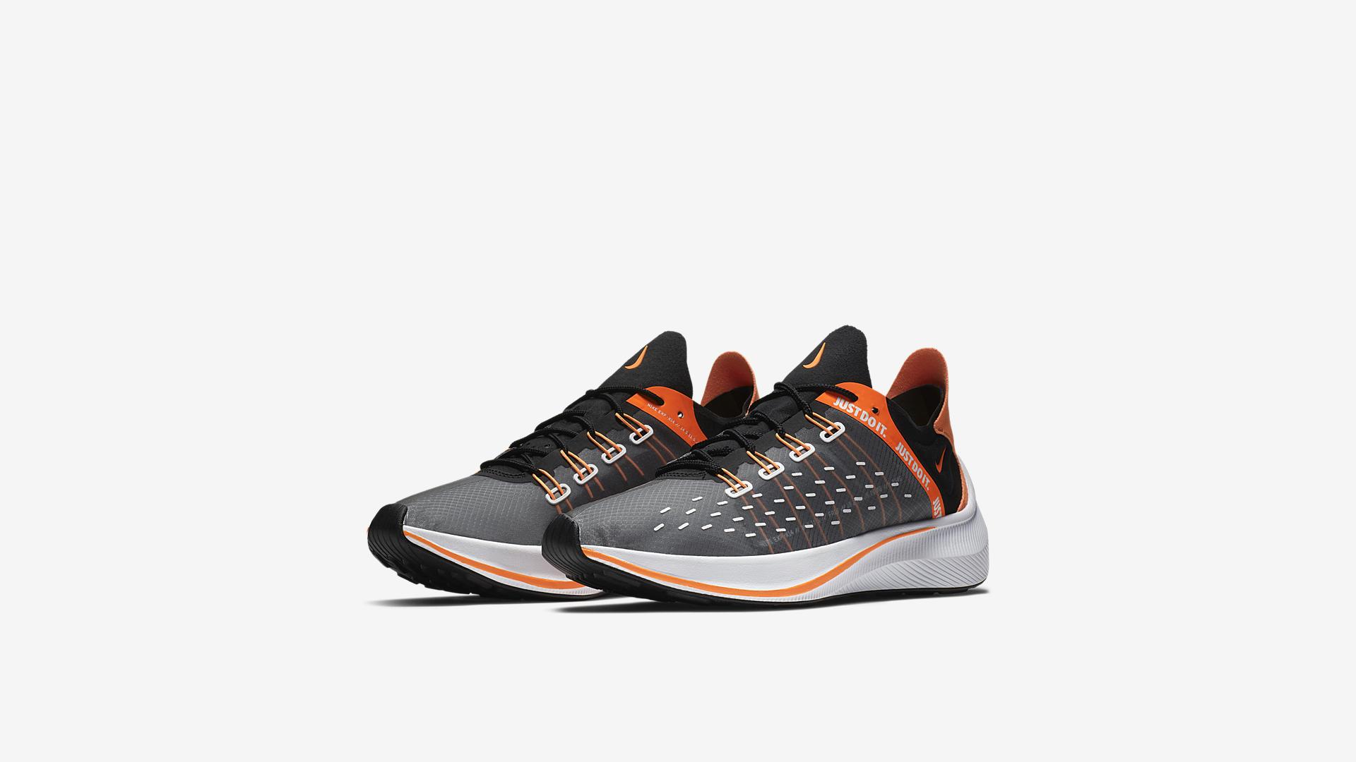 Nike EXP-X14 SE Just Do It Black / Total Orange – White – Cool Grey (AO3095-001)