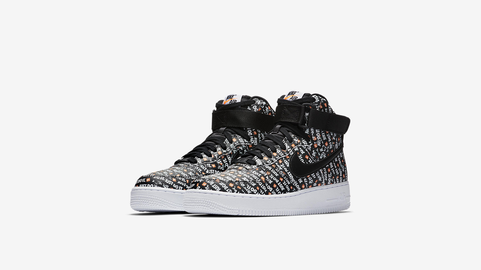 Nike Air Force High Just Do It Black (AO5138-001)
