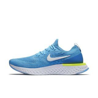 Nike Epic React Flyknit Hardloopschoen voor heren - Blauw blauw
