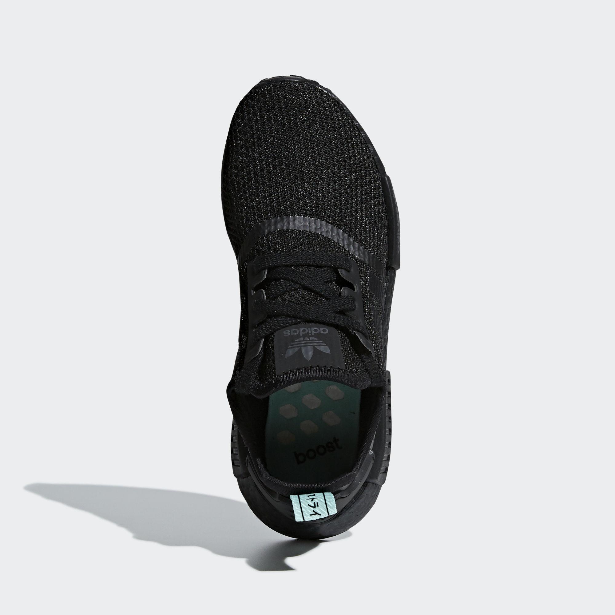 Adidas NMD_R1 Core Black / Core Black / Clear Mint (AQ1102)