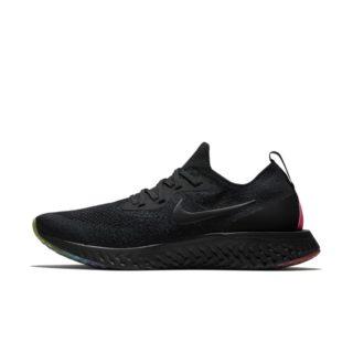 Nike Epic React Flyknit BETRUE Hardloopschoen voor heren - Zwart zwart