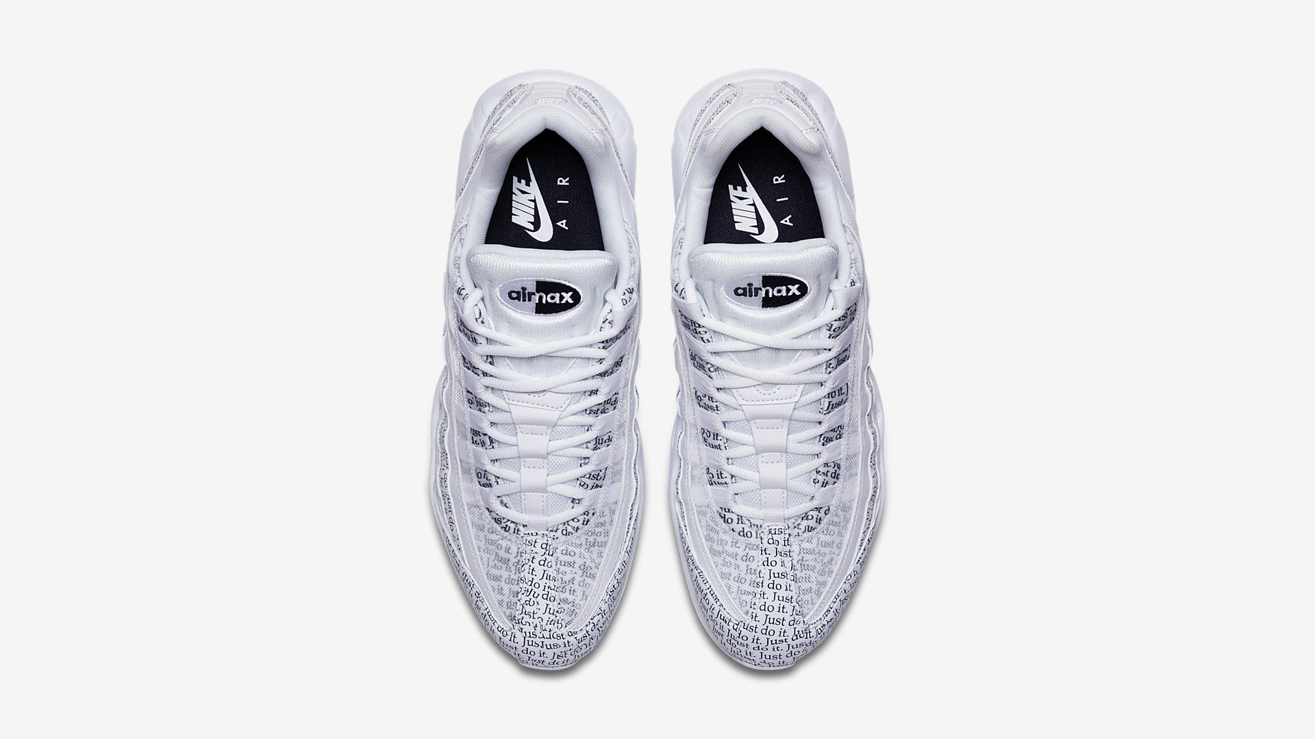 Air Max 95 Just Do It Pack White (AV6246-100)