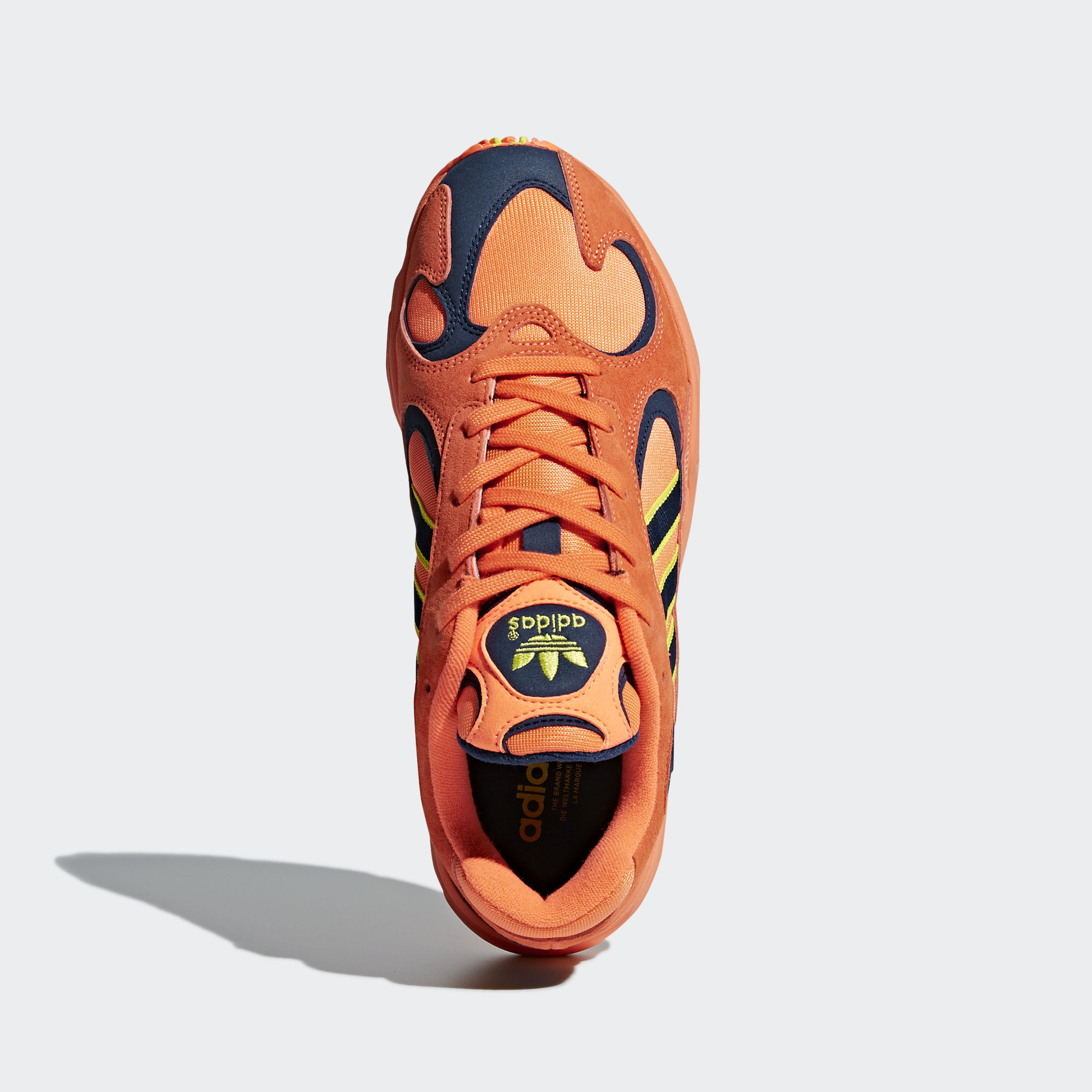 Adidas Yung 1 Hi-Res Orange / Hi-Res Orange / Shock Yellow (B37613)