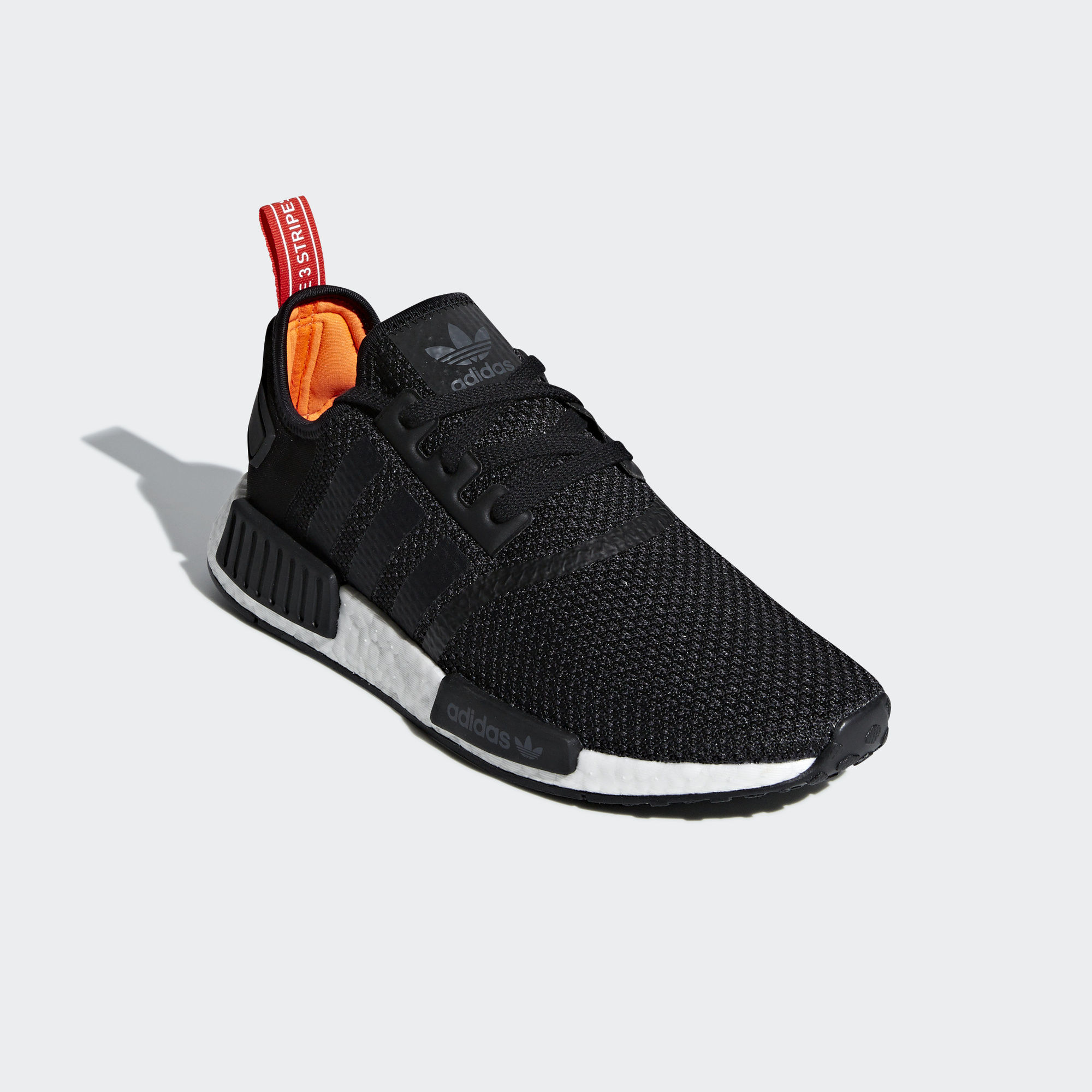 Adidas NMD_R1 Core Black / Core Black / Solar Orange (B37621)
