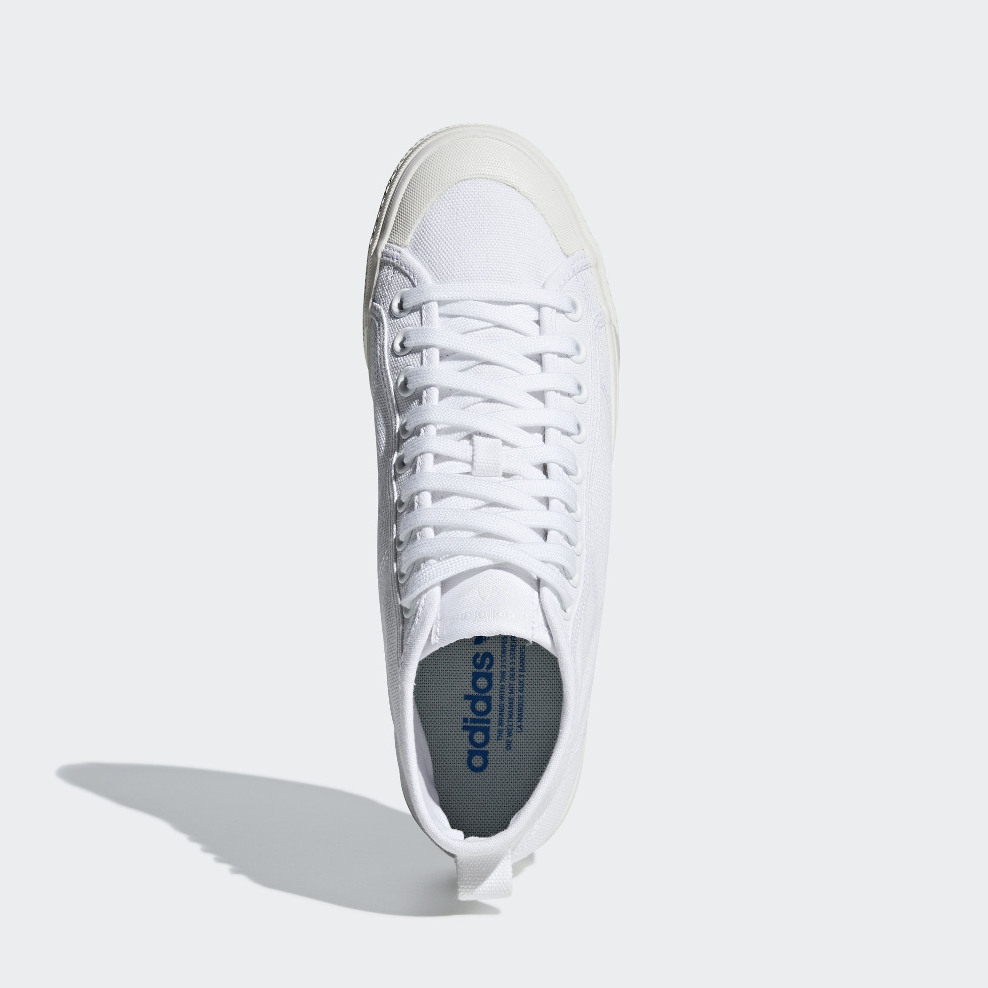 adidas Nizza Hi Cloud White
