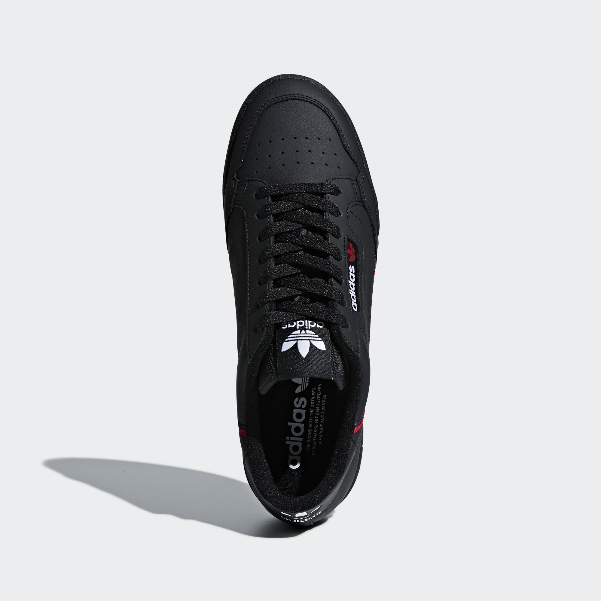 Adidas Continental 80 Rascal Core Black / Scarlet / Collegiate Navy (B41672)