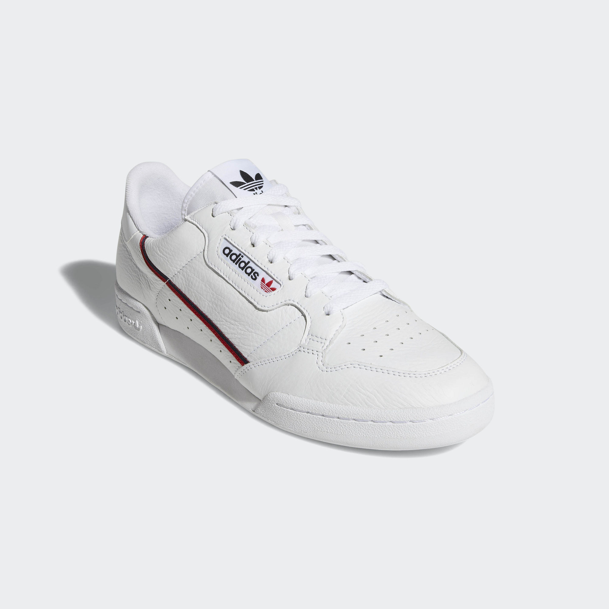 Adidas Rascal Continental 80 Ftwr White / Scarlet / Collegiate Navy (B41674)