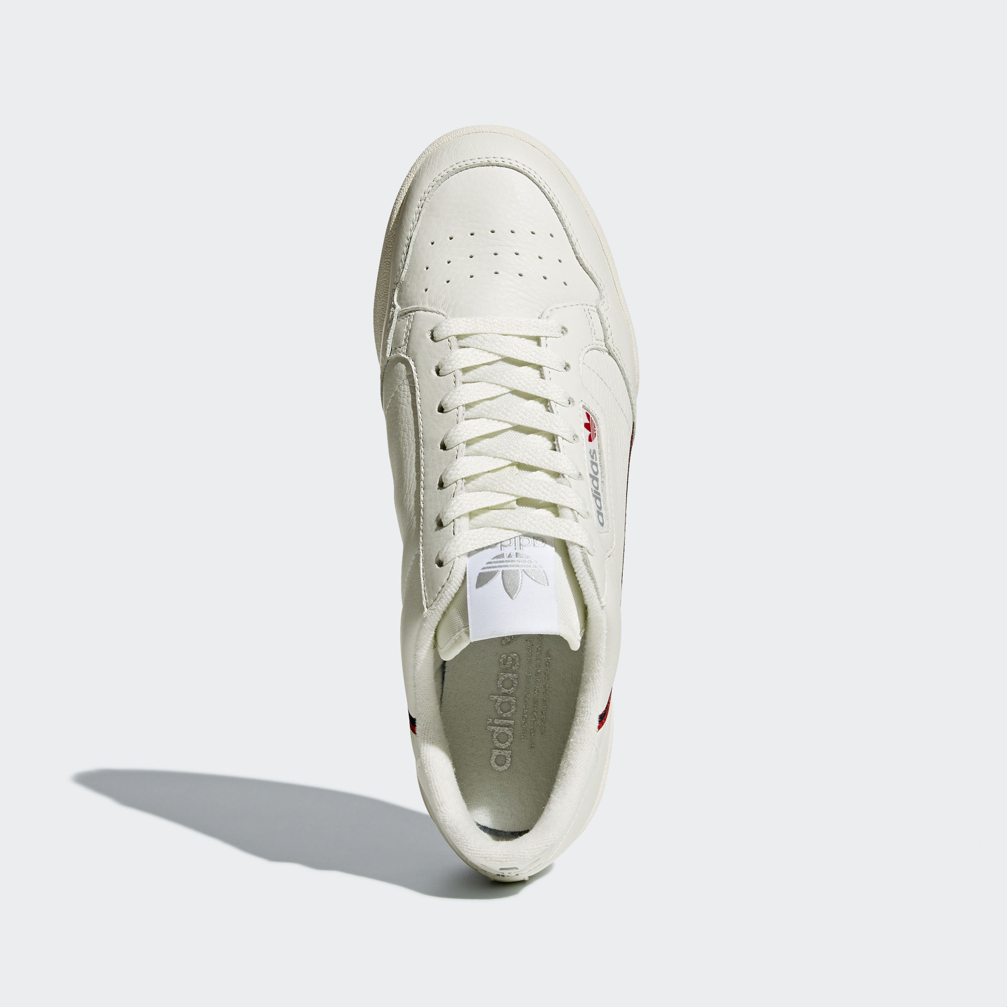Adidas Continental 80 Rascal Beige / Off White / Scarlet (B41680)