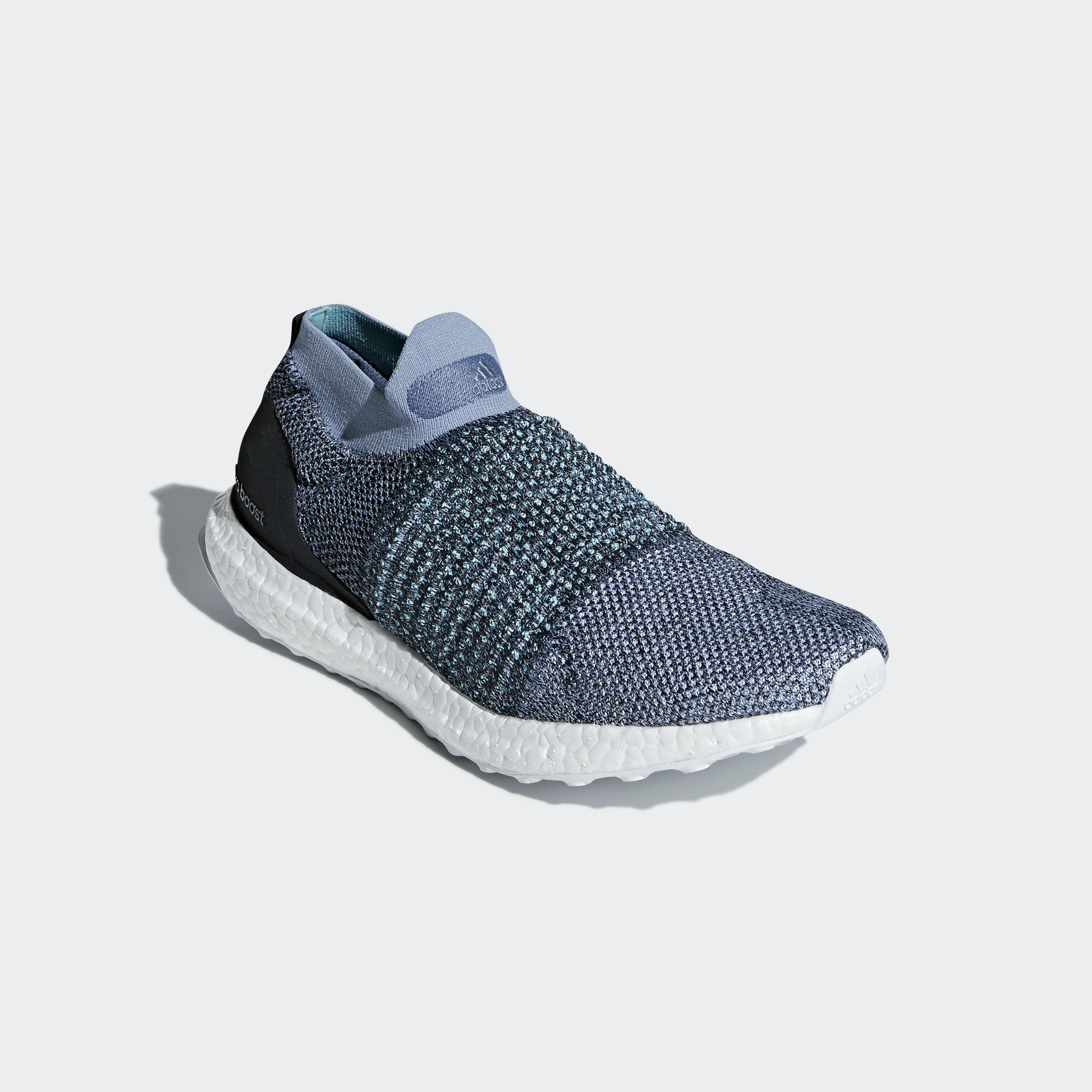 Parley x Adidas Ultra Boost Laceless Raw Grey / Carbon / Blue Spirit (CM8271)