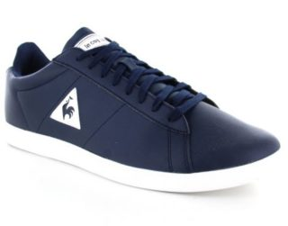 Le Coq Sportif Courtset S Leather Blauwe Sneakers (Blauw)