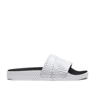 adidas by Alexander Wang AW Adilette (wit)